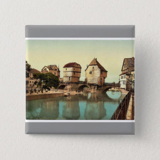 Bridge houses, Kreuznach (i.e., Bad Kreuznach), Na Button