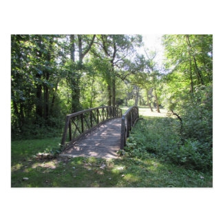 Bridge in a Park Postcard
