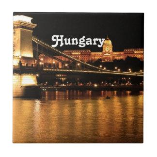 Bridge in Hungary Ceramic Tile