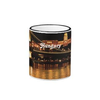 Bridge in Hungary Coffee Mugs