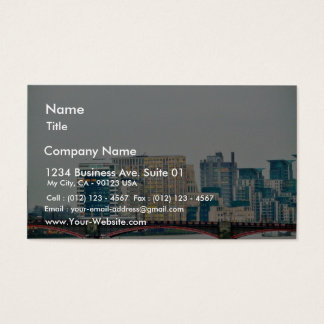 Bridge In London Business Card