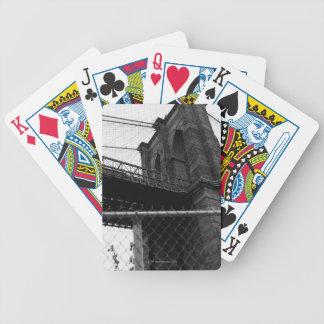 Bridge In Manhattan Bicycle Playing Cards