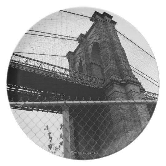 Bridge In Manhattan Plate