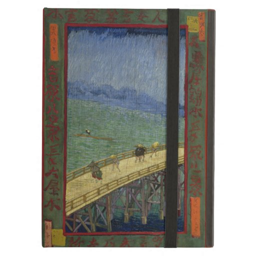 Bridge in Rain after Hiroshige by Vincent Van Gogh Case For iPad Air