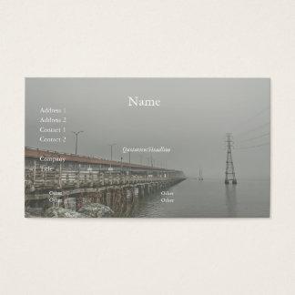 Bridge in the Fog 2 Business Card