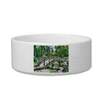 Bridge in the Garden Cat Food Bowl