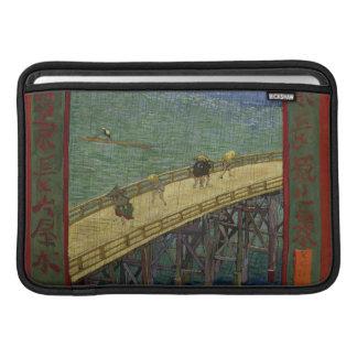 Bridge in the Rain Macbook Air Sleeve
