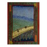 Bridge in the Rain Postcard