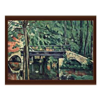 Bridge In The Woods Le Petit Pont Post Card