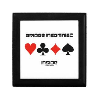 Bridge Insomniac Inside (Four Card Suits) Gift Box
