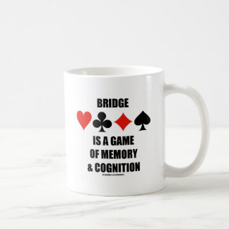 Bridge Is A Game Of Memory & Cognition Coffee Mug