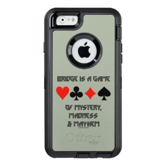 Bridge Is A Game Of Mystery Madness And Mayhem OtterBox Defender iPhone Case