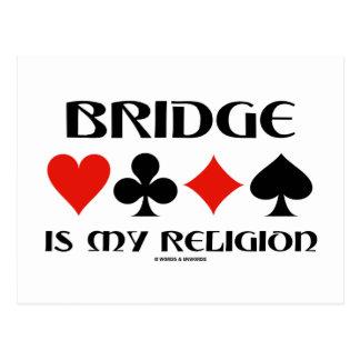 Bridge Is My Religion (Four Card Suits)