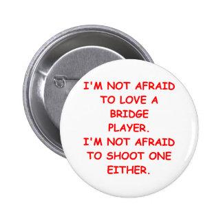 bridge joke 2 inch round button