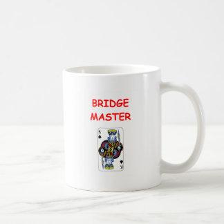 bridge joke coffee mug