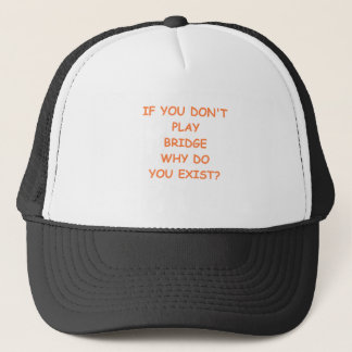 bridge joke trucker hat