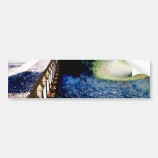 Bridge Lights Car Bumper Sticker