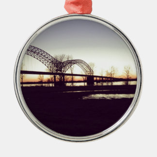 bridge metal ornament