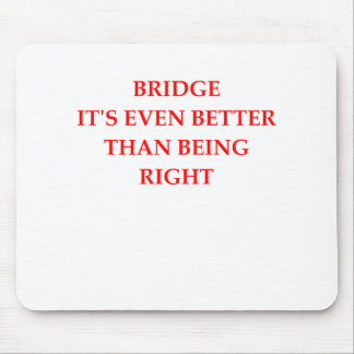 BRIDGE MOUSE PAD