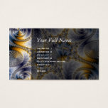 Bridge Network - Mandelbrot Fractal Art Business Card