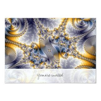 Bridge Network - Mandelbrot Fractal Art Card