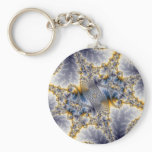 Bridge Network - Mandelbrot Fractal Art Keychain