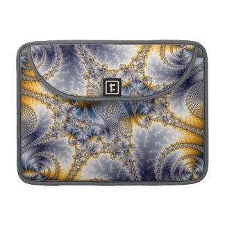 Bridge Network - Mandelbrot Fractal Art MacBook Pro Sleeves