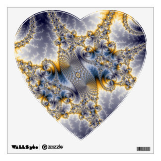 Bridge Network - Mandelbrot Fractal Art Wall Decal