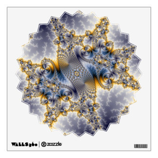 Bridge Network - Mandelbrot Fractal Art Wall Sticker