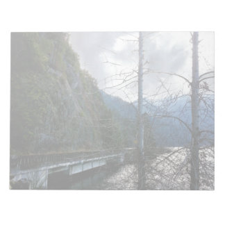 Bridge next to Lake Crescent Notepad