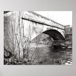 Bridge Northcutts Cove  Poster