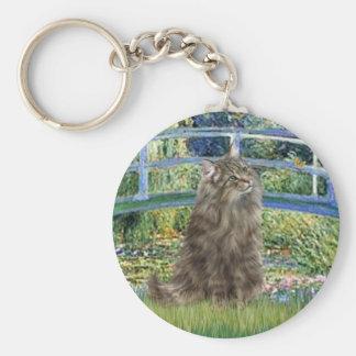 Bridge - Norwegian Forest cat Key Chain