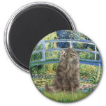 Bridge - Norwegian Forest cat Magnet