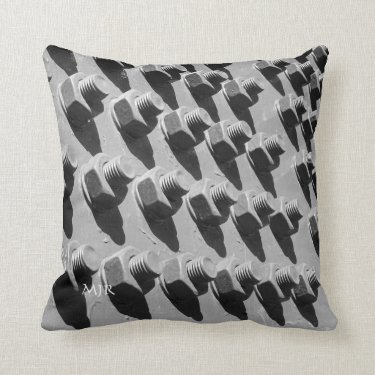 Bridge Nuts And Bolts Pillow