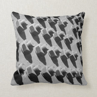 Bridge Nuts And Bolts Throw Pillow