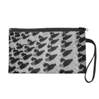 Bridge Nuts And Bolts Wristlet Purse