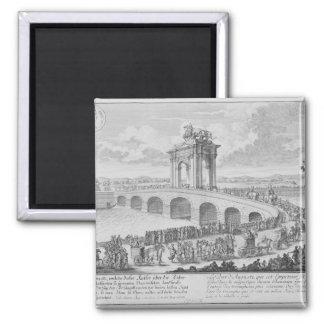 Bridge of Augustus on Via Flaminia, near Rimini, I Refrigerator Magnets