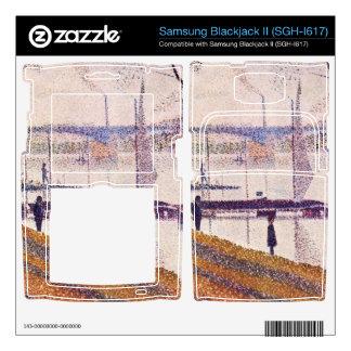 Bridge of Courbevoie by Georges Seurat Samsung Blackjack II Skin