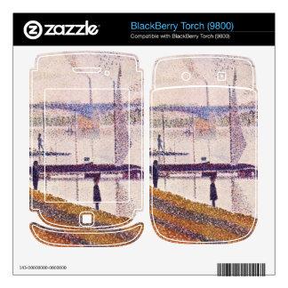 Bridge of Courbevoie by Georges Seurat BlackBerry Torch Skin