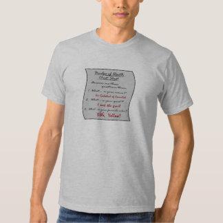 Bridge of Death Cheat Sheet Shirt