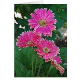 Bridge of Flowers - Daisies notecard Greeting Card