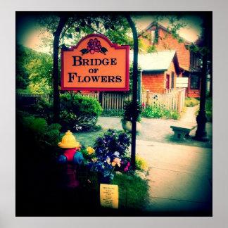 Bridge of Flowers Print