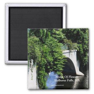 Bridge Of Flowers Shelburne Falls MA Magnet