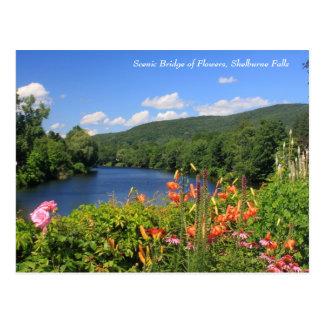 Bridge of Flowers, Shelburne Falls Postcard