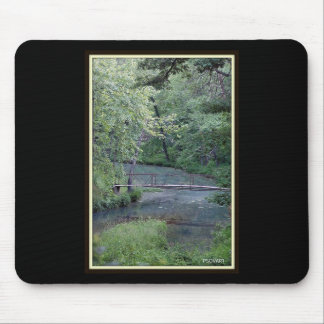 Bridge of life mouse pad