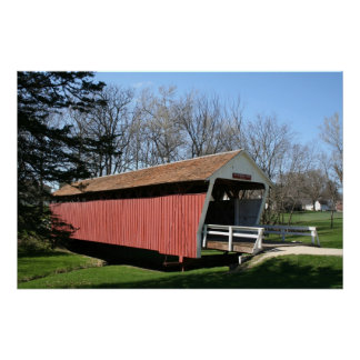 Bridge of Madison County, Iowa Print