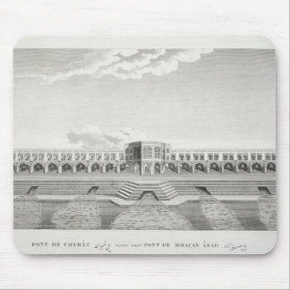 Bridge of Shiraz, Isfahan, from 'Voyages du Chevel Mouse Pad