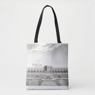 Bridge of Shiraz, Isfahan, from 'Voyages du Chevel Tote Bag