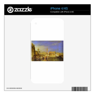 Bridge of Sighs, Ducal Palace and Custom House, Ve iPhone 4 Decal