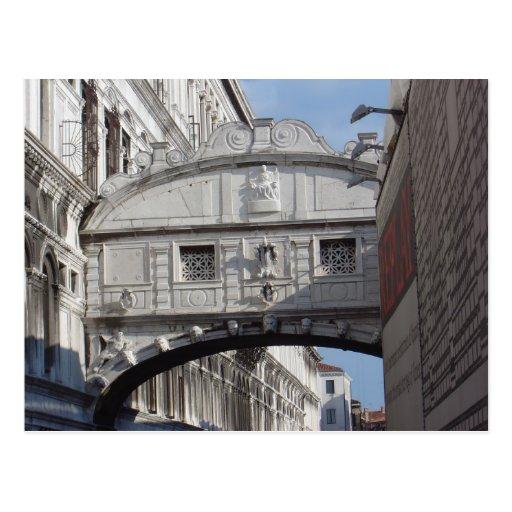 Bridge of Sighs, Venice 2 Postcard